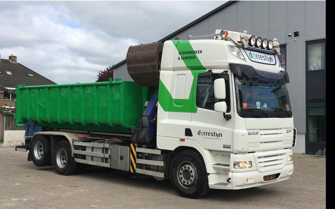 Dorrestijn Milieu containerwagen