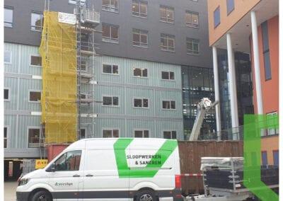 Sloopwerk 3e en 4e etage